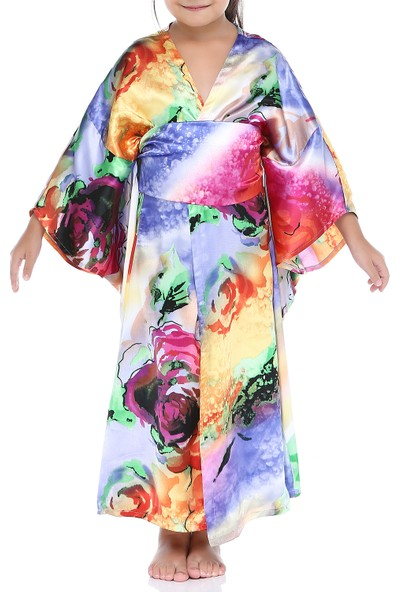 Tülü Akkoç Kimono Elbise