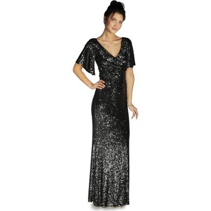 d896569a0c0 Pierre Cardin Siyah Payetli Uzun Abiye Elbise Fiyatı