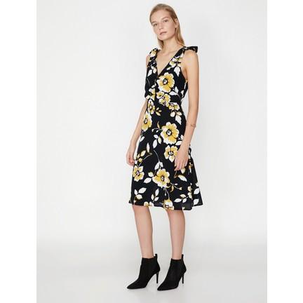 a850ce8e672be Koton Çiçek Desenli Elbise Fiyatı - Taksit Seçenekleri