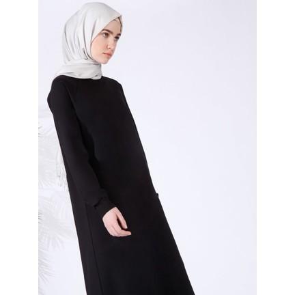 a959f902bc4ec Everyday Basic Düz Renk Spor Elbise - Siyah Fiyatı