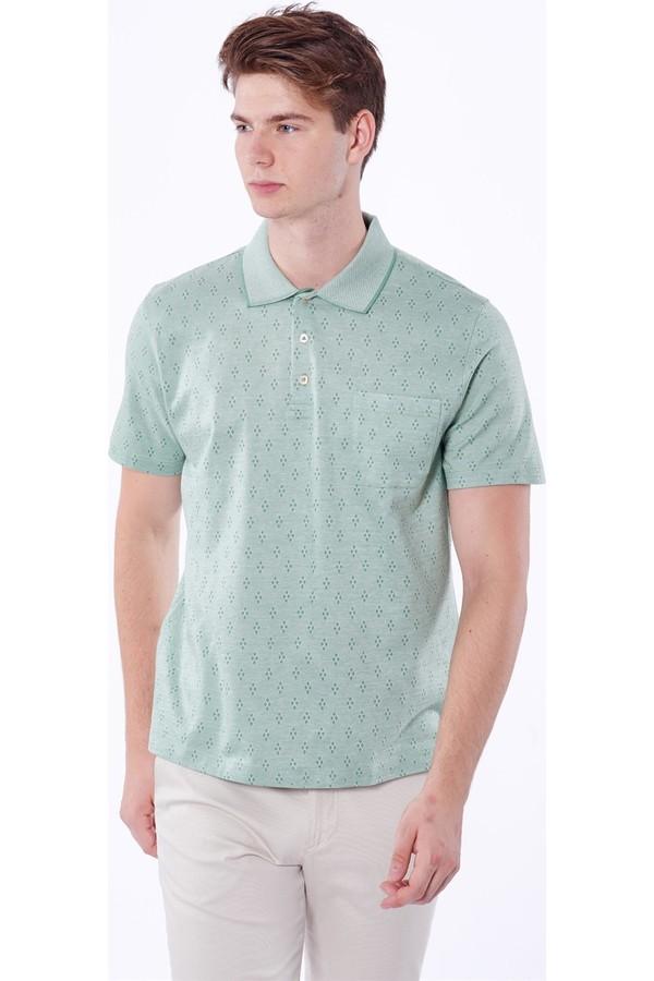 Dufy Patterned Men's T-Shirt