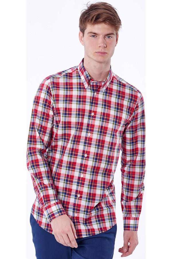 Dufy Men's Plaid Shirt