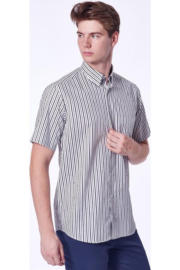 Dufy Men's Striped Shirt