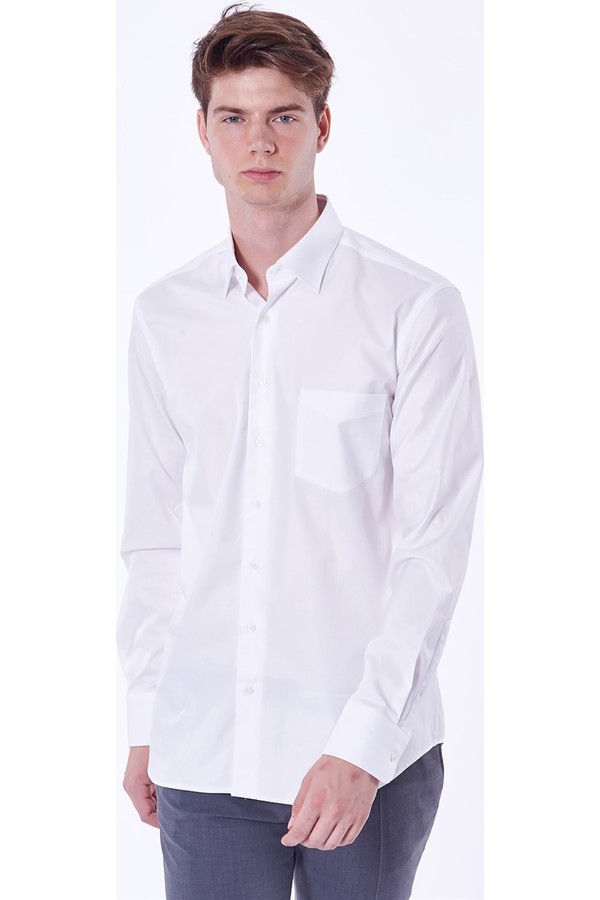 Dufy Men's Solid Shirt