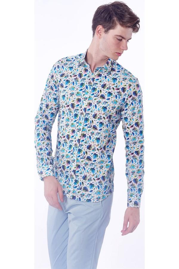 Dufy Men's Printed Shirt