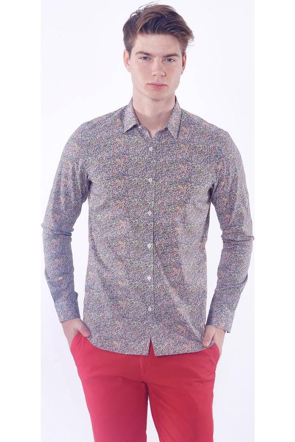 Dufy Men's Patterned Shirt