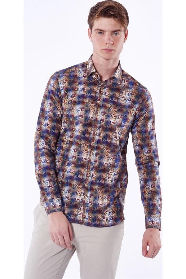 Dufy Men's Floral Shirt