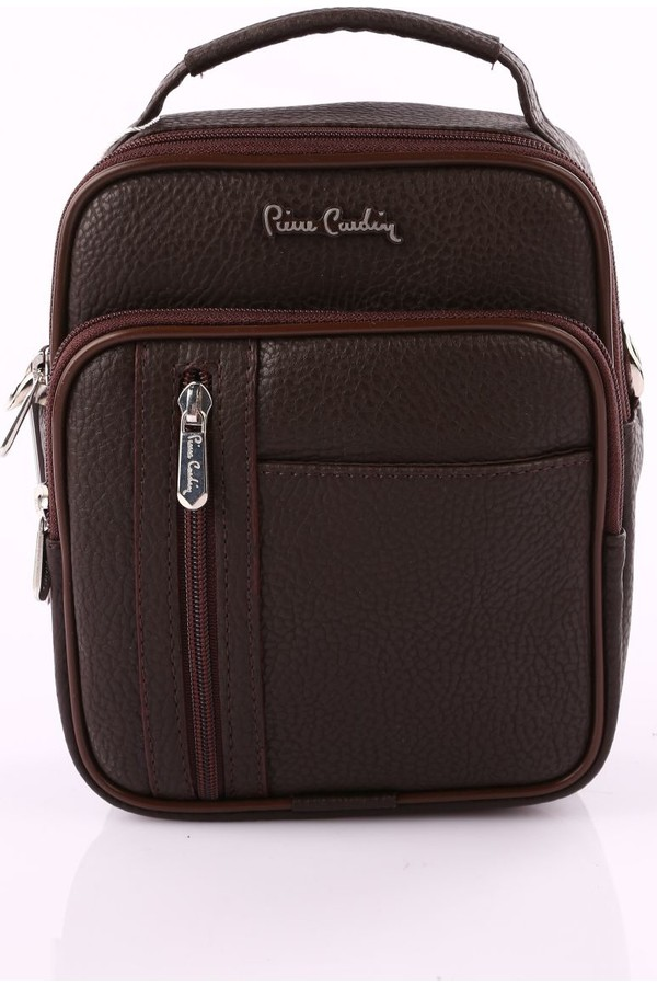 Pierre Cardin Men's Handbag Coffee 01pc001423