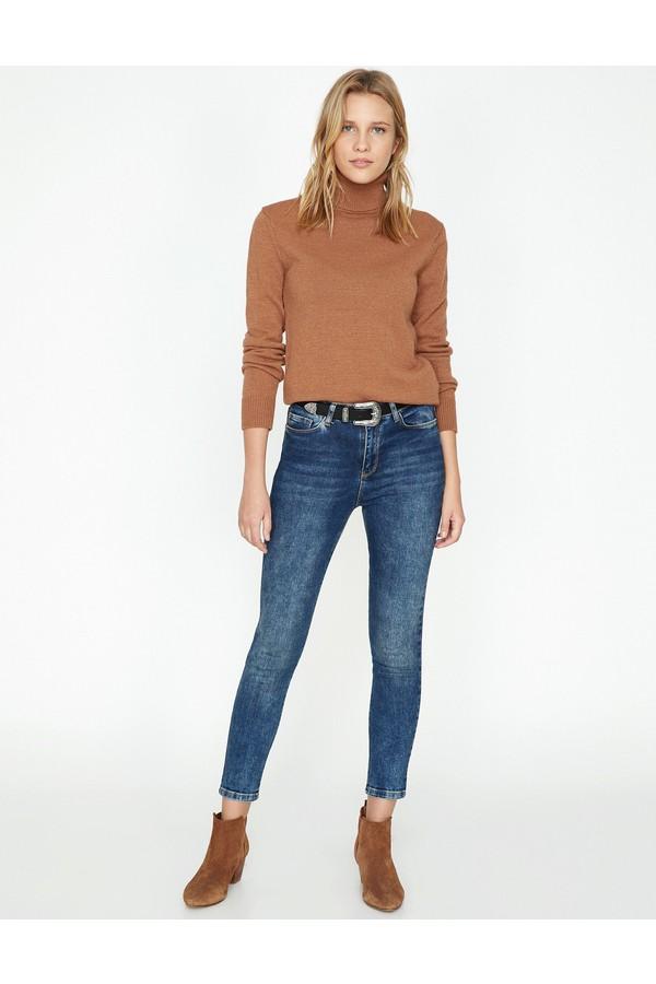Koton Women's Skinny Jeans Pants