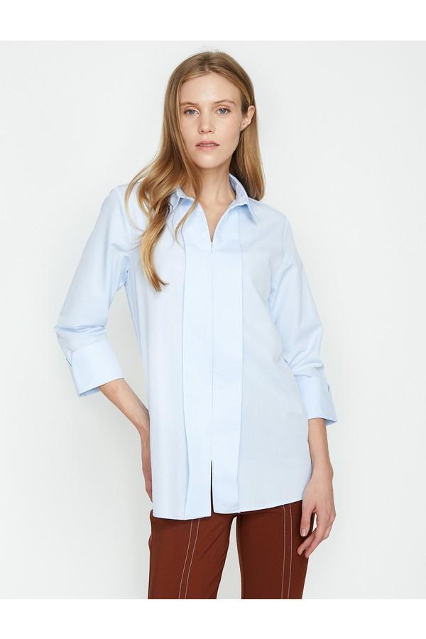 Women's Koton Classic Collar Shirt