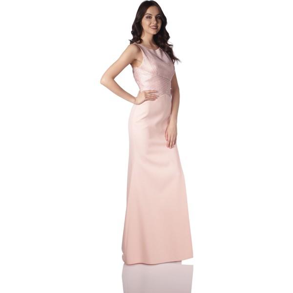 c78a62705e317 Pierre Cardin Pudra Derin Yırtmaçlı Balık Abiye Elbise - 42 Ürün Resmi