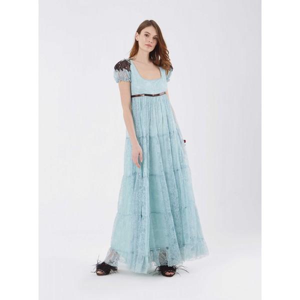 4f7f538adc810 Roman Omuz Detaylı Mavi Abiye Elbise - 38 - Açık Mavi Fiyatları ...