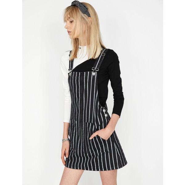 1a0b2c177f1e4 Koton Çizgili Jean Elbise - 40 - Siyah Fiyatları, Özellikleri ve ...
