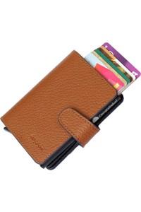 Genghis Pakel Mechanism Wallet wallet card wallet Navy Red
