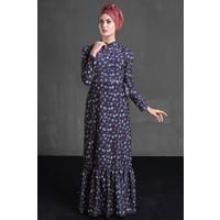 Delkash Hazen Elbise Lacivert