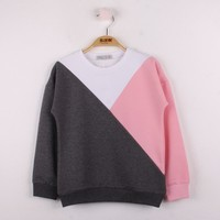 Toontoy Kız Çocuk Garnili Sweatshirt K 9