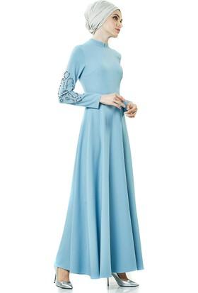 2niq Elbise-Aqua PN8152-20