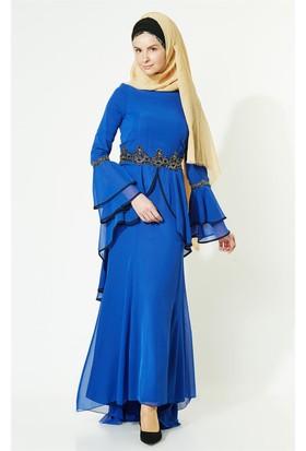 2952a40edda3b Mavi Tesettür Abiye Modelleri ve Fiyatları & Satın Al