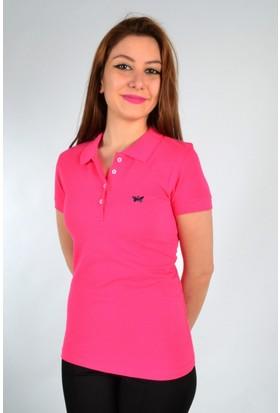 Marcoroni Polo Yaka Fuşya T-Shirt