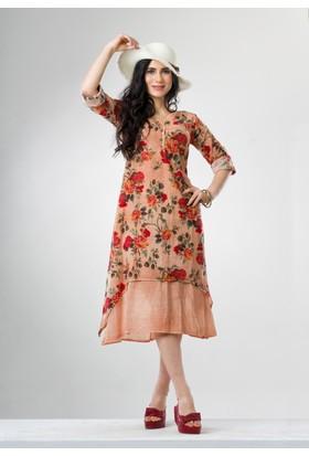 b94bfc2491448 Krem Yazlık Elbise Modelleri ve Fiyatları & Satın Al