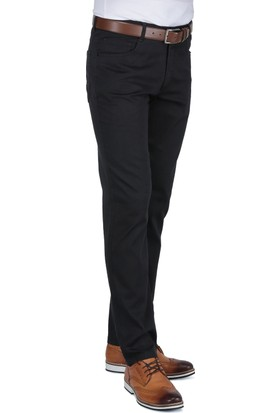 Buenza Ruby Sulfur 205_5 Cep Slim Fit Pantolon - Fume