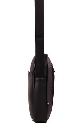 U.S. Polo Assn. Çapraz Askılı Erkek Cantası Siyah 8419