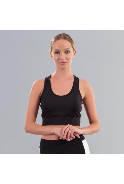 Ral Sport 21650 Sharp Kadın Spor Büstiyer Siyah
