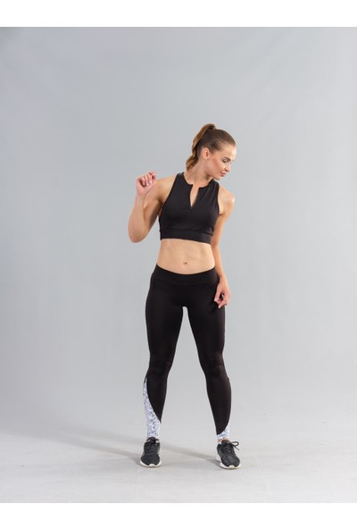Ral Sport 32950 Kadın Spor Büstiyer Siyah