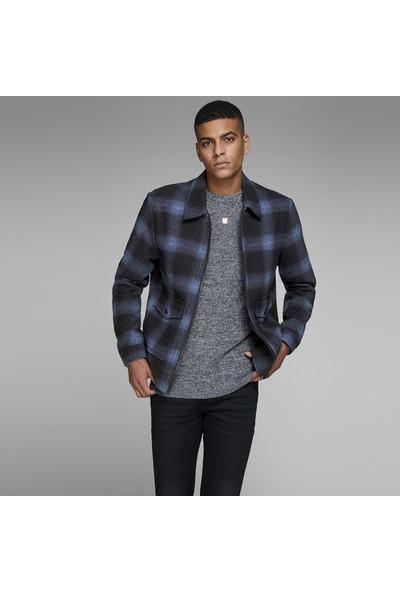 Jack & Jones Core Jcocheck Wool Jacket Erkek Mont 12143331