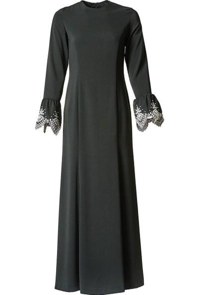 Kayra Abiye Elbise-Siyah KA-A7-23109-12