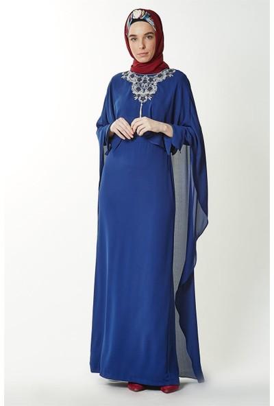 Kayra Abiye Elbise-Saks KA-B7-23079-74