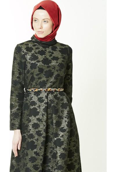 Kayra Abiye Elbise-Siyah KA-A7-23068-12