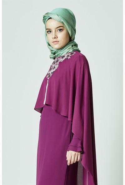 Kayra Abiye Elbise-Fuşya KA-B7-23079-04
