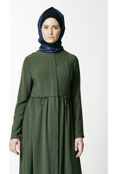 Peçem Ferace-Yeşil 6223-21