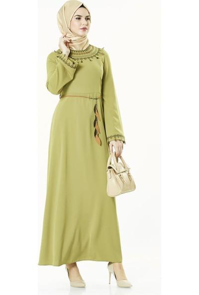 2niq Elbise-Safran 4007-74