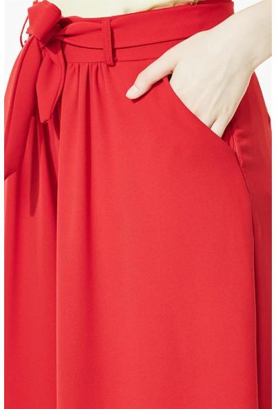 2niq Pantolon-Kırmızı MS870-34