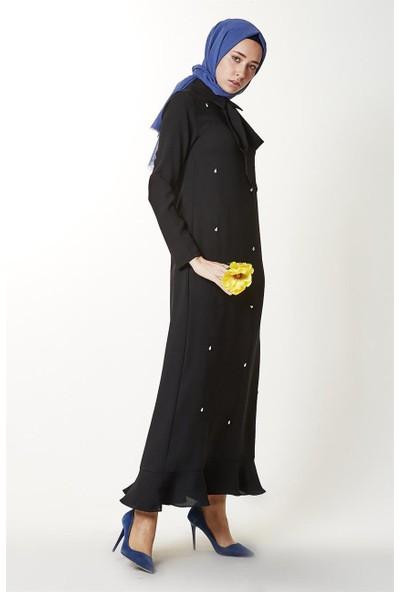 Mood Elite Elbise-Siyah LR2542-01