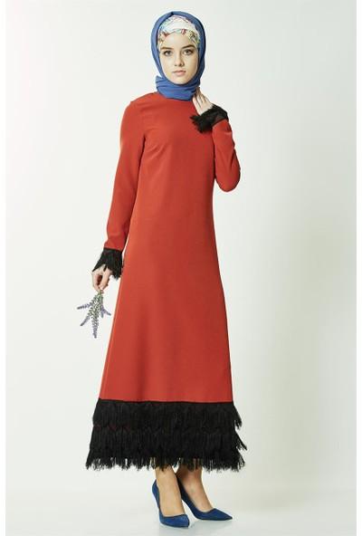 2niq Elbise-Kiremit PN2561-58