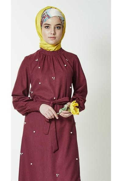 Mood Elite Elbise-Mürdüm BL7439-51