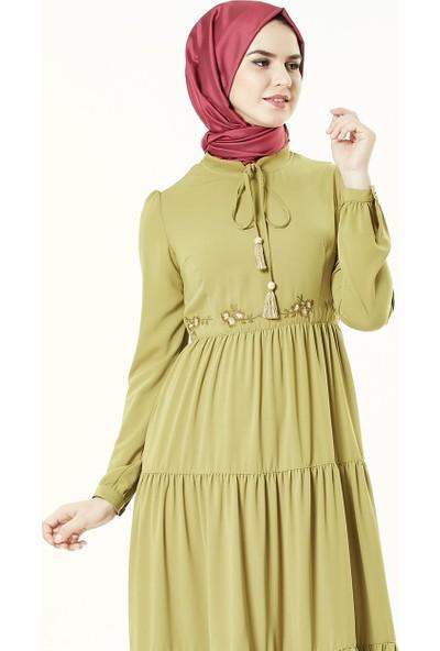 2niq Elbise-Safran 4001-74