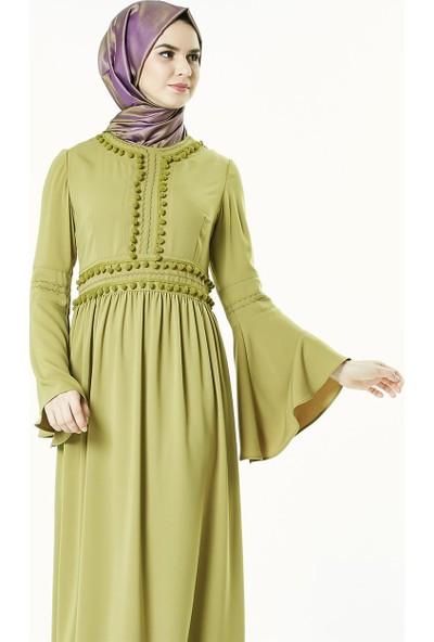 2niq Elbise-Safran 4004-74