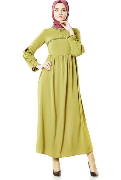 2niq Elbise-Safran 4005-74