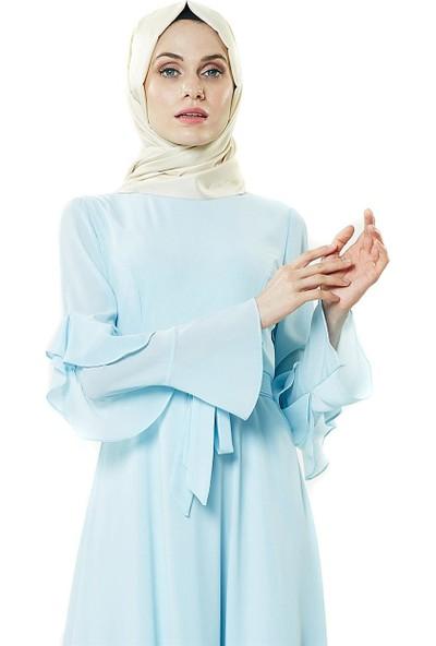 2niq Elbise-Bebek Mavisi PN8156-118