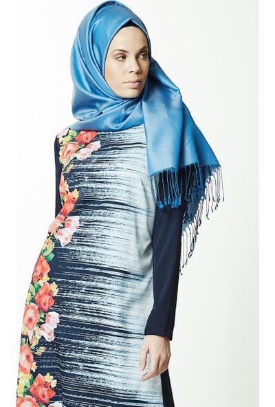 Lady Nur Tunik-Lacivert 9003-17