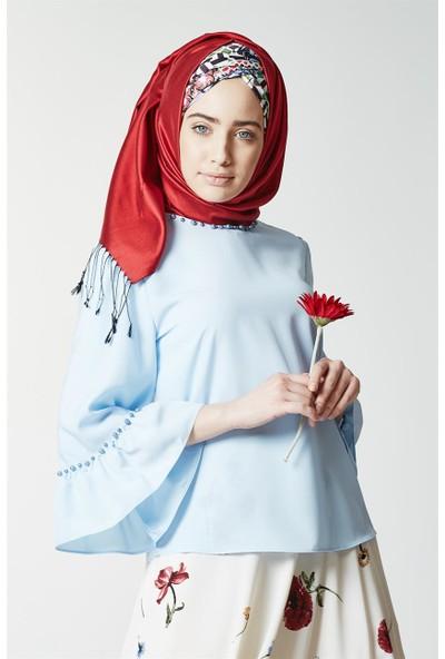 Kyl Collection Bluz-Bebe Mavi 5142-118