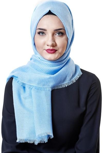 2niq Şal-Bebek Mavisi MD1026-118