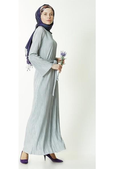 Mood Elite Elbise-Gri 7377-04