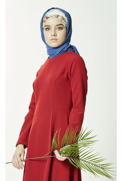 Mood Elite Elbise-Kırmızı BL7289-34