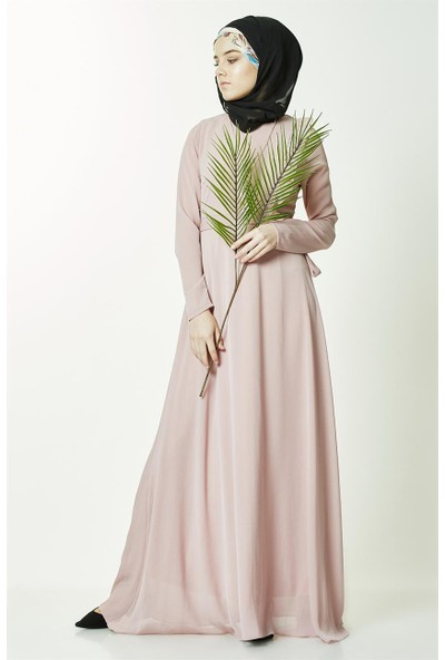 2niq Elbise-Gül Kurusu PN2585-53