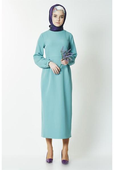 Butik Melina Elbise-Yeşil 2355-102